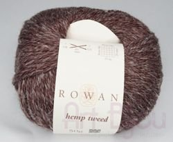 włóczka Rowan Hemp Tweed col. 134 Treacle
