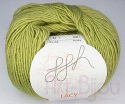włóczka ggh Lacy col. 6 Apple Green